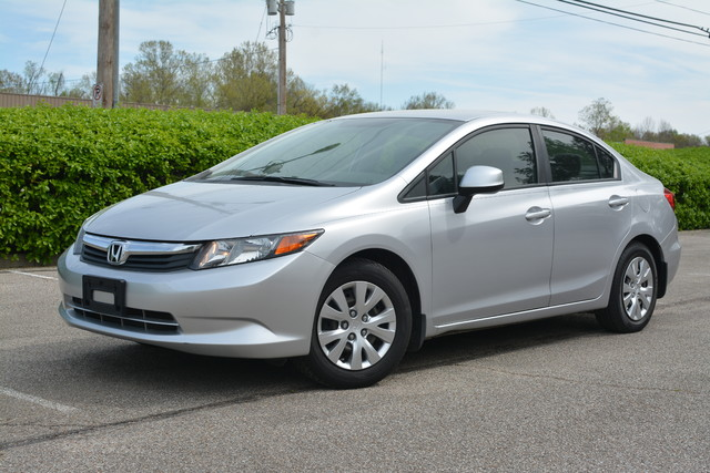 2012 Honda Civic is in excellent condition
