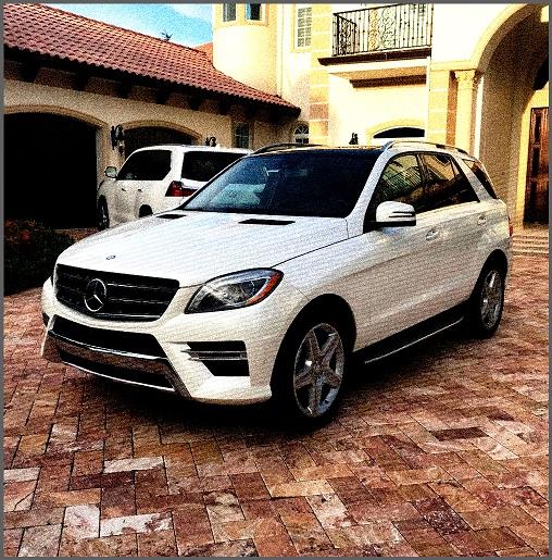2014 Mercedes Benz ML550 M class for sale